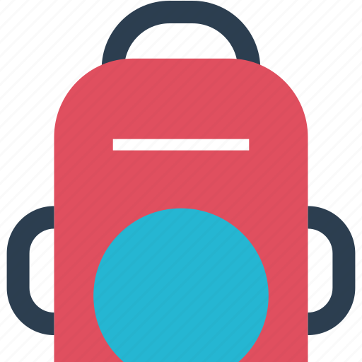 away, backpack, bag, carry, outdoors, travel, vacation icon