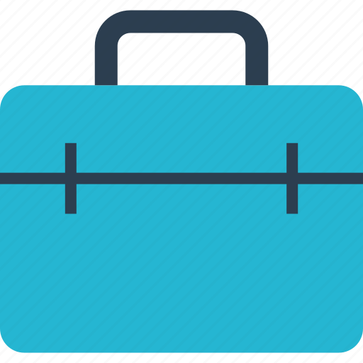 away, briefcase, case, outdoors, professional, travel, vacation icon