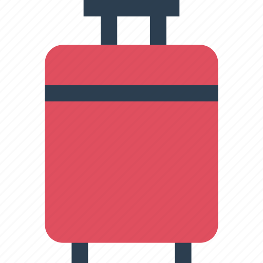 away, bag, carry, luggage, outdoors, travel, vacation icon