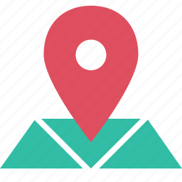away, find, map, outdoors, pin, travel, vacation icon