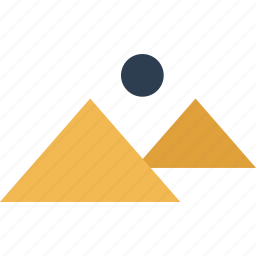africa, away, egypt, outdoors, pyraminds, travel, vacation icon