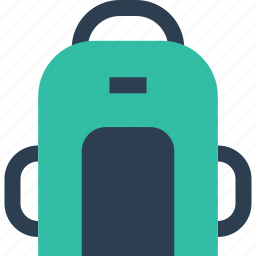 away, back, bag, outdoors, pack, travel, vacation icon