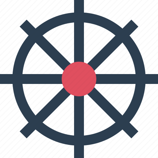 away, outdoors, sail, ship, travel, vacation, wheel icon