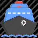 ship, travel, travelling, transportation, yacht, cruise, transport icon
