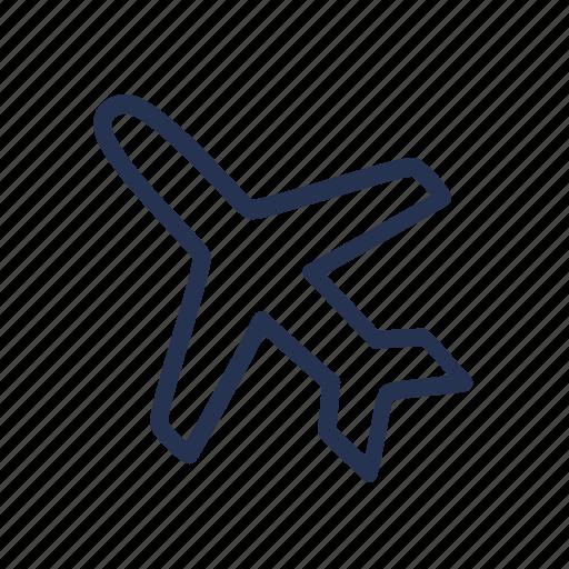airplane, hand drawn, plane, travel icon