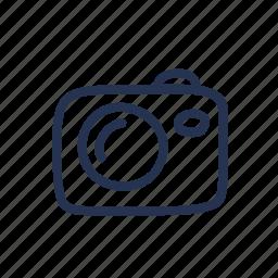 camera, cartoon, doodle, photo icon