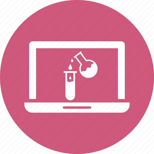 computer, lab, laptop icon