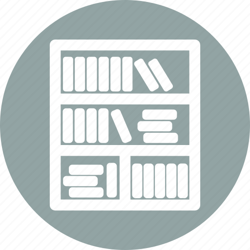 almirah, book, furniture, wardrobe icon