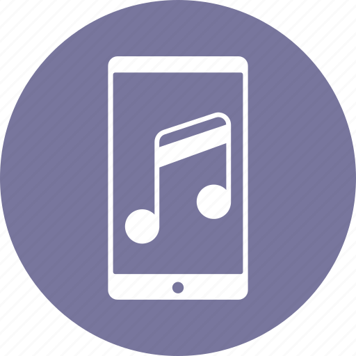 mobile, music, phone icon