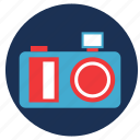 and, camera, travel, vacation icon