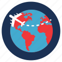 destination, flight, tourism, travel, vacation icon