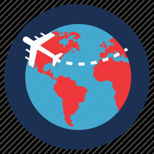 destination, flight, tourism, travel, vacation icon