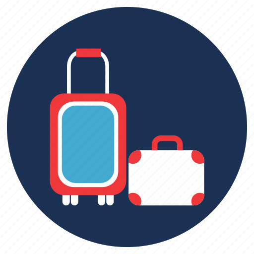 and, bag, luggage, travel, vacation icon