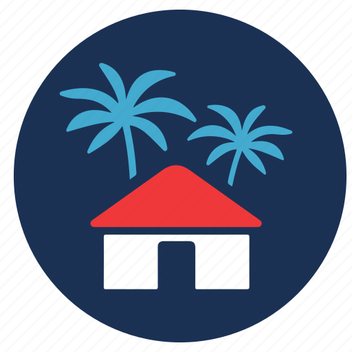 and, resort, tourism, travel, vacation icon