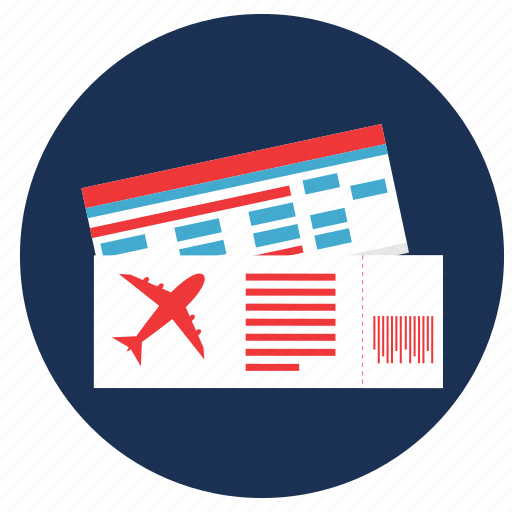 air ticket, and, tickets, travel, vacation icon