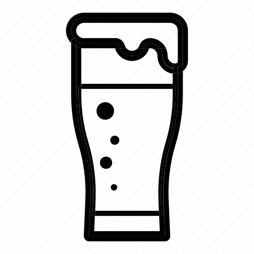 alcohol, beer, brewing, drink, glass, party icon