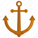 anchor, ship