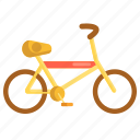 bicycle, bike, cycle, cyclist icon