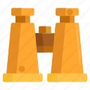binocular, binoculars icon