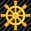 boat, boat steering, steering