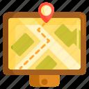 gps, map, navigation, navigator icon