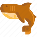 animal, fish, ocean, sea, shark icon