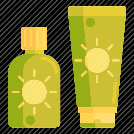 cream, sun, sun cream, sun lotion, sunblocks icon