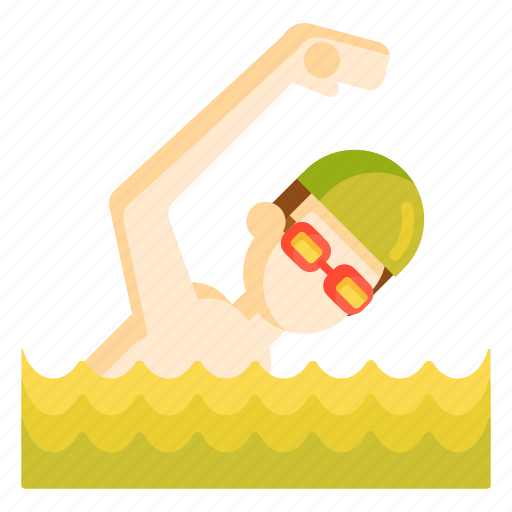 swim, swimmer, swimming icon
