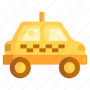 cab, ride hailing, taxi icon