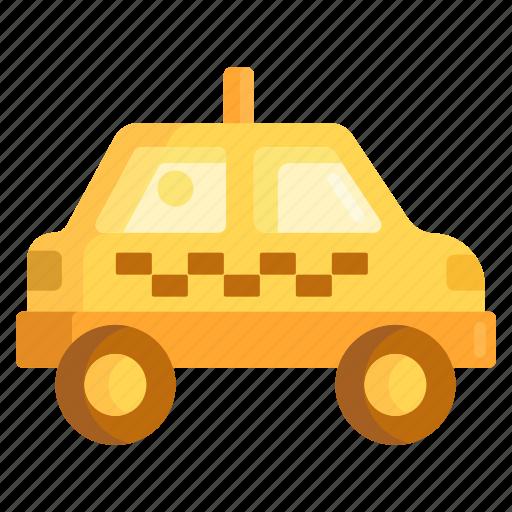 cab, ride hailing, taxi icon