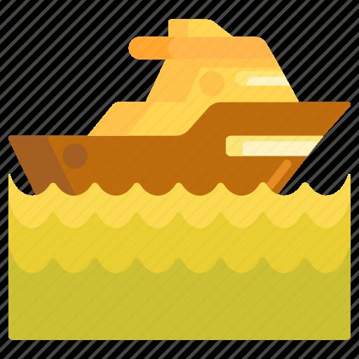 boat, cruise, ship, speed boat, yacht icon