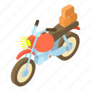 bike, carry, cartoon, luggage, motor, motorbike, motorcycle icon