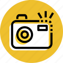 camera, camera icon, grid, photography, picture, travel icon icon