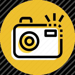 camera, camera icon, grid, photography, picture, travel icon icon