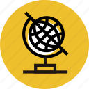 education, global, globe, grid, map, travel icon icon