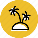 grid, island, island icon, palm icon, palms, travel, travel icon icon