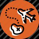 grid, iland, navigation, plane, plane icon, target icon