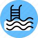 grid, pool, pool icon, swim icon, swimming icon, travel icon, water icon icon