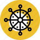 grid, handwheel, sea, sea boat, steering, wheel, wheel icon icon