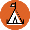 camp, camping, grid, tent, tent icon, wigwam, wigwam icon icon