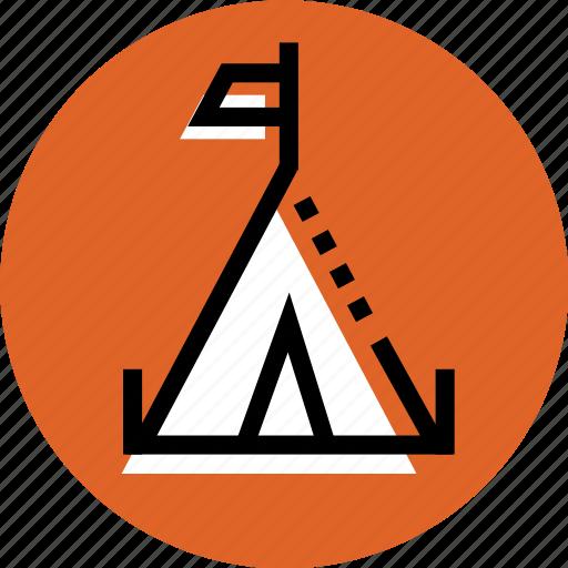Camping, camp, wigwam icon, grid, wigwam, tent icon, tent icon