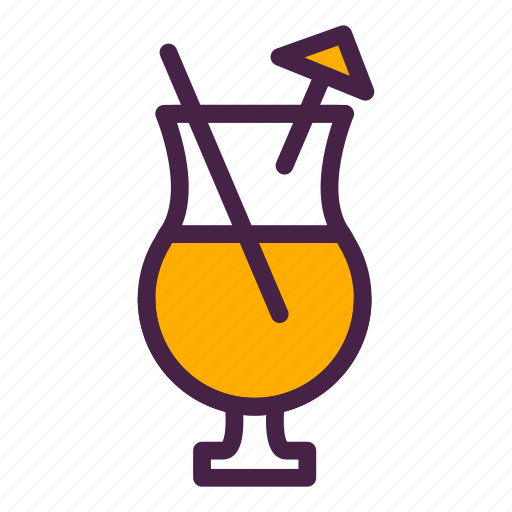 alcohol, cocktail, drink, travelculture, umbrella, vacation icon