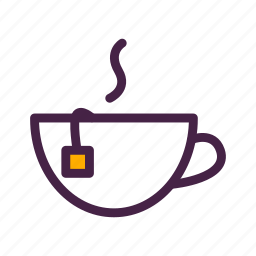 cup, hot drink, mug, steam, tea, travelculture icon