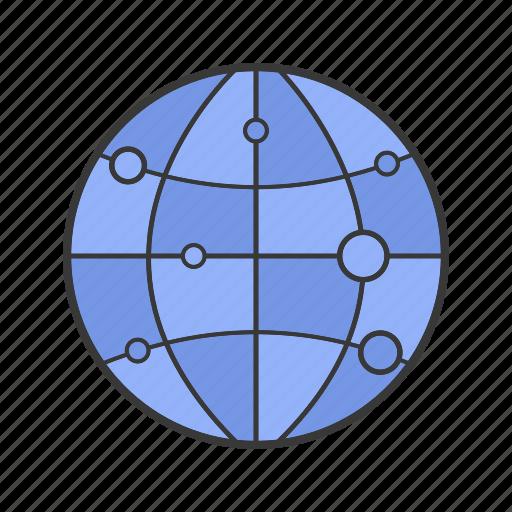 globe, journey, mapping, tourism, travelling, voyage, worldwide icon