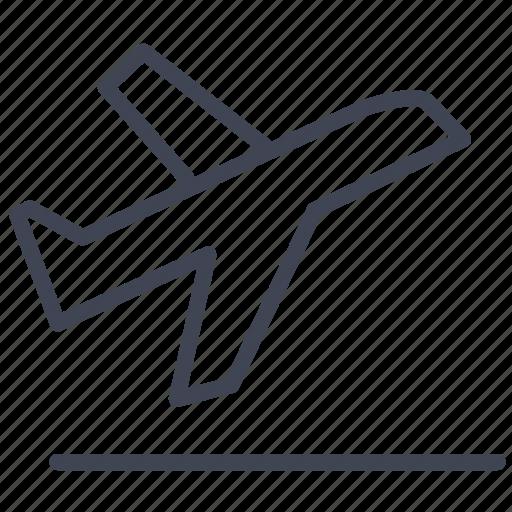 airplane, airport, departure, essentials, travel icon