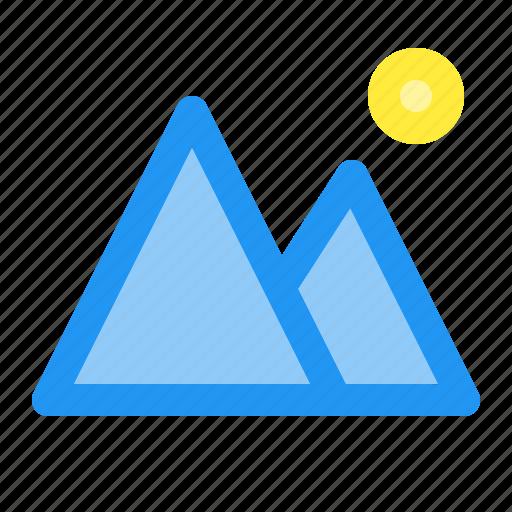 destination, mountain, outlook, tour, tourism, travel, view icon