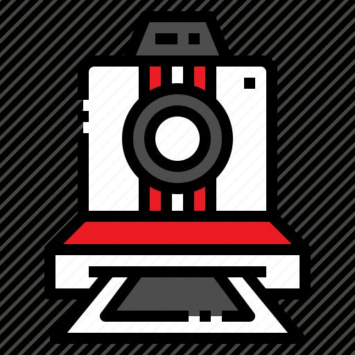 camera, film, old, polaroid, retro icon