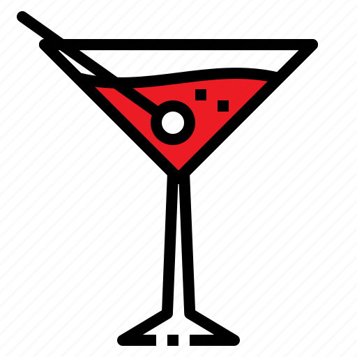 beverage, drink, liqueur, martini, relax icon