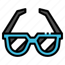 accessories, fashion, glasses, summer, sunglasses icon
