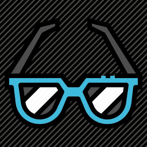 accessories, fashion, glasses, summer, sunglasses icon